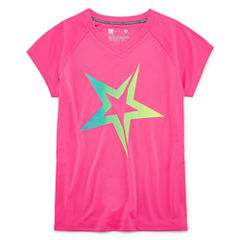 Xersion Graphic T-Shirt-Big Kid Girls Plus