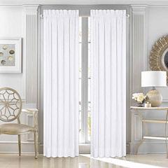 Five Queens Court Mackay Grommet-Top Curtain Panel