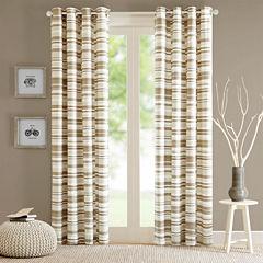 Strider Grommet-Top Curtain Panel