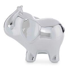 Okie Dokie Ceramic Elephant Bank - Baby