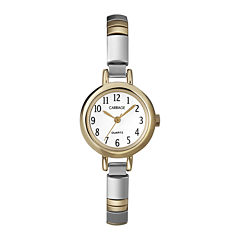 Carriage by Timex® Womens Two-Tone Stainless Steel Expansion Bracelet Watch C562919J