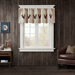 Deer Rod-Pocket Valance