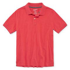 Arizona 100 Short Sleeve Polo Shirt - Big Kid Boys