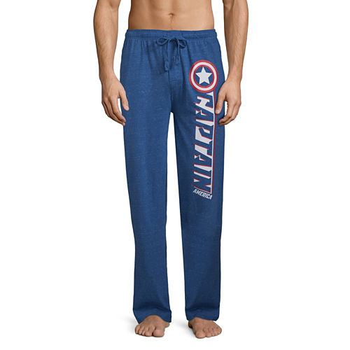 Captain America Knit Pajama Pants