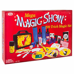 Ideal Mega Magic Show Kit Unisex 12-pc. Dress Up Accessory