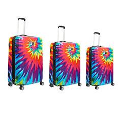 Ful Tie Dye 3-pc. Hardside Luggage Set