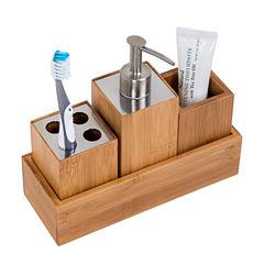 Honey-Can-Do 4-pc. Bath Accessory Set