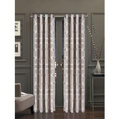 Queen Street Katrina Grommet-Top Curtain Panel