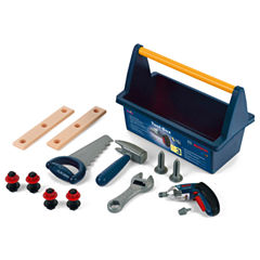 Theo Klein Bosch Toy Toolbox with Ixolino