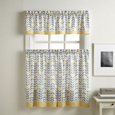 Savannah Rod Pocket Kitchen Curtains