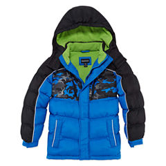 Reebok Heavyweight Puffer Jacket - Boys-Big Kid