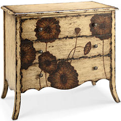 Poppy Fields 3-Drawer Storage Chest