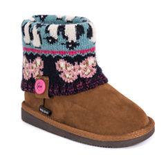 MUK LUKS® Patti Girls Boots - Little Kids