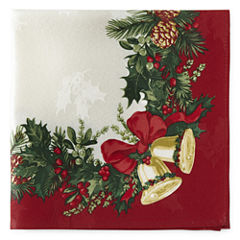 JCPenney Home Holly Bells 4-pc. Napkins