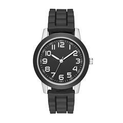 Womens Black Strap Watch-Fmdjo107