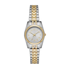 Womens Two Tone Expansion Watch-Fmdjo116