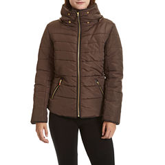 Excelled Leather Heavyweight Puffer Jacket