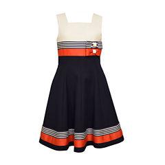 Bonnie Jean Sleeveless Party Dress - Big Kid Girls