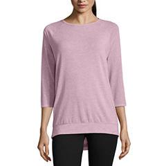 Xersion 3/4 Sleeve T-Shirt-Womens