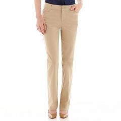 St. John's Bay® Bi-Stretch Secretly Slender Pant