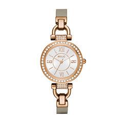 Relic Womens Gray Strap Watch-Zr34416
