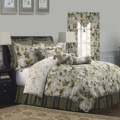Williamsburg Garden Images 4-pc. Comforter Set & Accessories