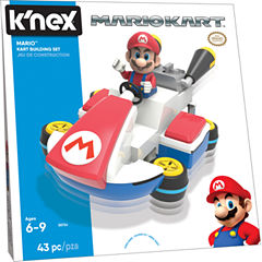 K'NEX Mario Kart  – Mario Kart Building Set – 43 Pieces – Ages 6+ - Construction Education Toy