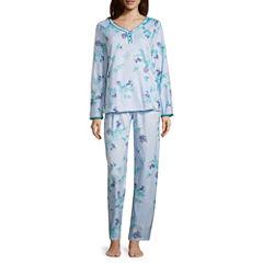 Adonna 2-pc. Floral Pant Pajama Set