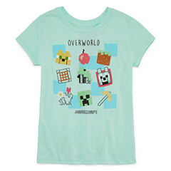 Mine Craft 'Overload' T-Shirt- Girls' 7-16