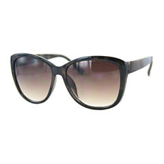 Glance Full Frame Square UV Protection Sunglasses-Womens