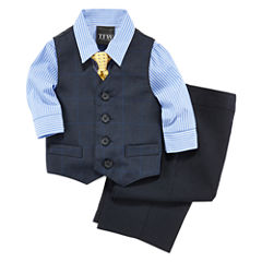 Shirt, Vest, Tie and Pants - Baby Boys 3m-24m