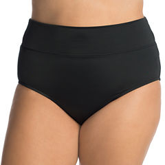 Trimshaper High Waist Swimsuit Bottom-Plus