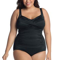 Trimshaper One Piece Swimsuit Plus