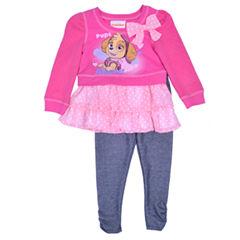 Nickelodeon Disney Princess 2-pc. Pant Set Girls