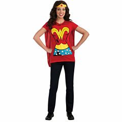 Wonder Woman T-Shirt Adult Costume Kit