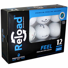 12 Pack of Callaway Recycled Golf Balls.