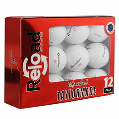 Reload 12 Pack Taylormade Project (a) Refinished Golf Balls.