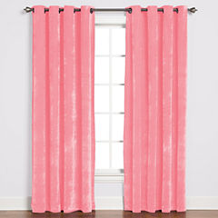 Saturday Knight Plush Grommet-Top Curtain Panel