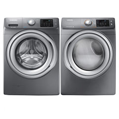 Samsung Front Load 2-pc. Gas Washer and Dryer Set
