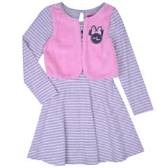 Disney Minnie Mouse Jacket Dress Toddler Girls