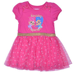 Nickelodeon Short Sleeve Skater Dress - Toddler Girls