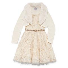 Knit Works Jacket Dress Preschool Girls
