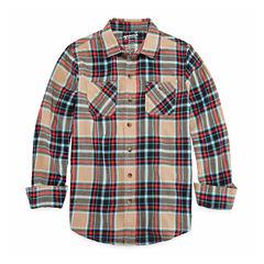 Arizona Long Sleeve Flannel Boys 8-20 & Husky