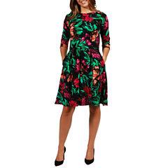 24/7 Comfort Apparel Islamorada Dress