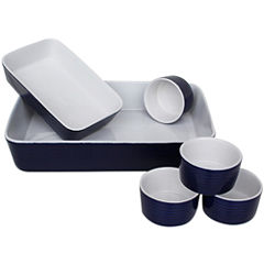 Euro Ceramica 6-pc. Ceramic Bakeware Set