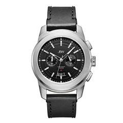 JBW 0.12 Ctw Mens Black Strap Watch-J6352a