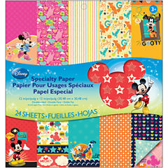 EK Success Disney Double-Sided Specialty Paper Pad - Mickey Family