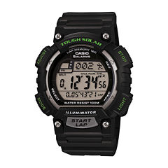 Casio Table Mens Black Strap Watch-Stls100h1apb