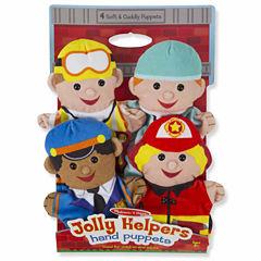 Melissa & Doug® Jolly Helpers Hand Puppets