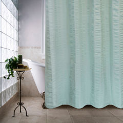 Park B Smith Seersucker Bands Shower Curtain